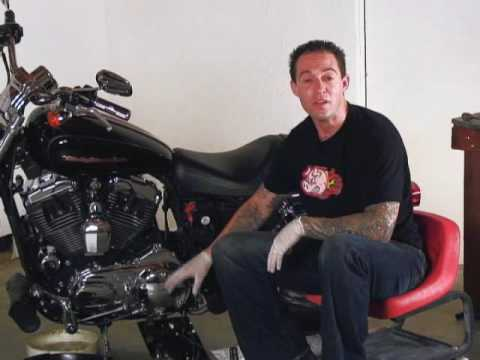 Harley Davidson Sportster Maintenance Video Part 1 Video