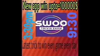 New Trivia Game Show Win upto 100000$ and  i will win you by 1 step
