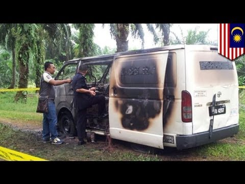 Malay Robbers Take M$3.3 M In Cash In Van Hijacking video