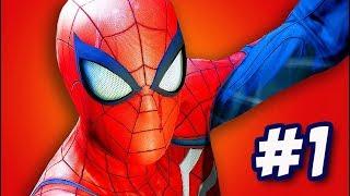 SPIDER-MAN PS4 #1: NGƯỜI NHỆN PETER PARKER PHIÊN BẢN GAME ĐÂY RỒI !!!