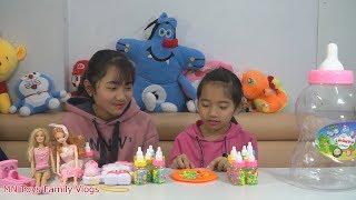 Trò Chơi Ăn Kẹo Bình Sữa - Đồ Chơi Trẻ Em - MN Toys Family Vlogs