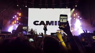 Download Lagu Never be the same - Camila Cabello live @ Lollapalooza Argentina 2018, Hipódromo de San Isidro Gratis STAFABAND