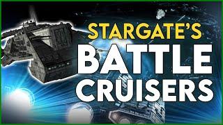 The Stargate Fleet: Earth's 7 Battle Cruisers