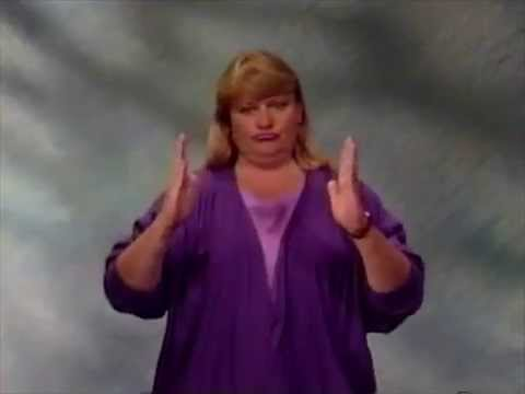 90's sign language VHS edited into 3 minutes of penis jokes