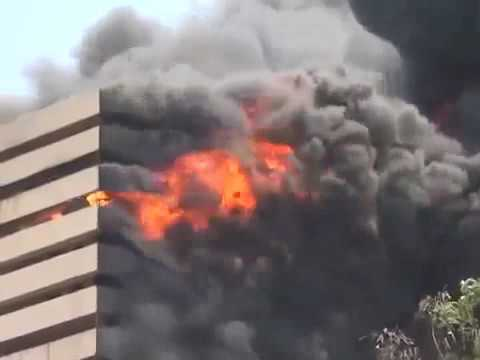 Massive Fire at Textile Market in Surat ,Gujarat