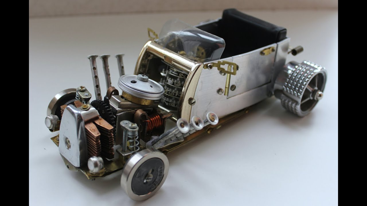 Как сделать из металла игрушку машинку своими руками