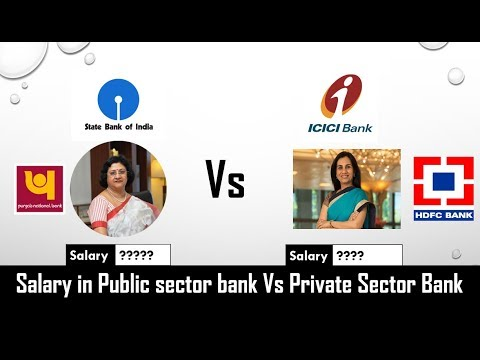 difference between private bank public bank