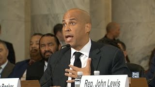 Watch Booker's Full Testimony Against Sessions