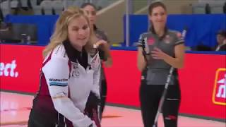 Double for 2 by Jennifer Jones (2018 Canada Cup)