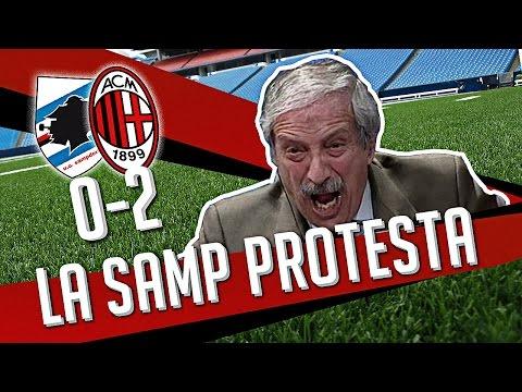 DS- (SAMPDORIA MILAN 0-2) La Samp Protesta