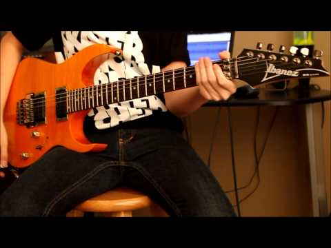 In The End | Black Veil Brides (guitar Cover) Hd video