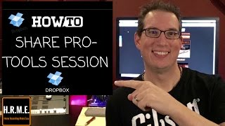 Pro Tools Session - Share via Drop Box