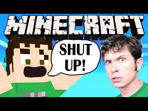 Minecraft - SHUT UP TOBUSCUS!