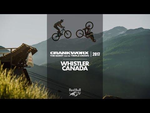 Red Bull Joyride - Crankworx 2017 Replay from Whistler, Canada