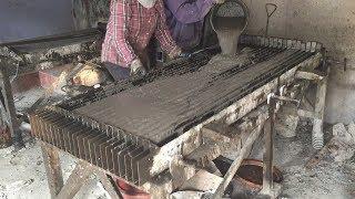 Construction Plans - Production A Concrete Fence Precast, Traditional Techniques Craft Skills