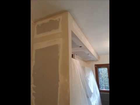 Costruire parete cartongesso