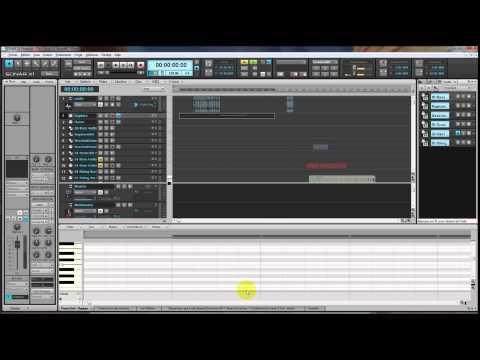 Sonar X1 - l'interface