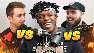 Who is the BEST RAPPER ALIVE? With KSI & Randolph
