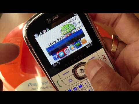 At&t prepaid phone Alcatel 871a go phone (Review)