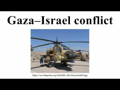 Gaza–Israel conflict