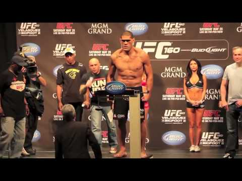 UFC 160 Velasquez vs Bigfoot II Full WeighIn Video