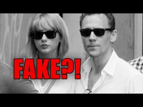 Taylor Swift & Tom Hiddleston's Relationship Fake?! (BREAKDOWN)