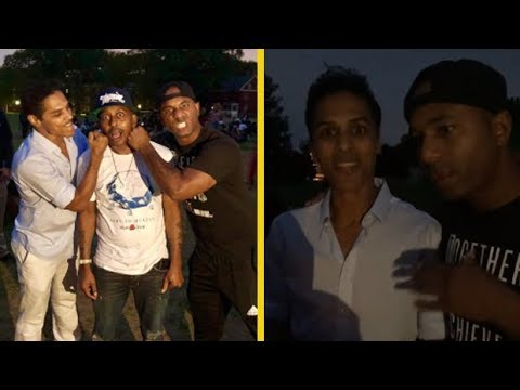 Gillie Da Kid & His Cousin's Hunt For Bruce Leroy Comes To An End!