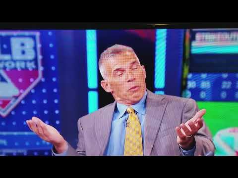 Joe Girardi And Pedro Martinez MLB Network. Yankees Red Sox Rivalry.