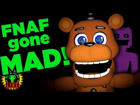 Return to FNAF World - Scott's GONE MAD!