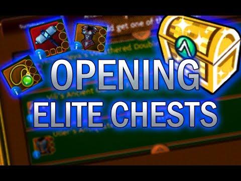 Arcane Legends | Opening Elite Golden Chests