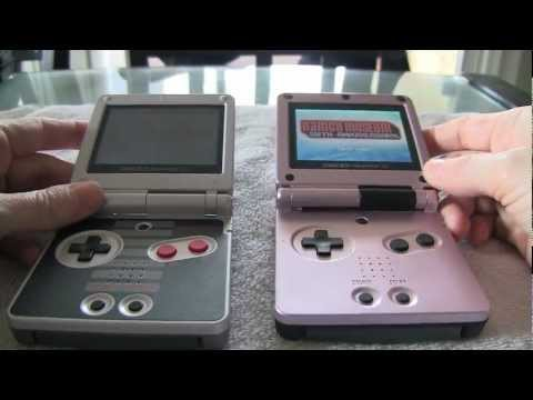 Gameboy Advance SP Classic Screen MOD - by Amy DeCaro