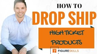 How To Drop Ship eCommerce | Two Methods | High Ticket & Low Ticket