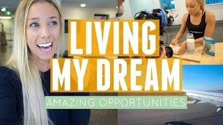 Living My Dream | Amazing Opportunities | Jet Setting