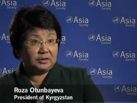 Kyrgyzstan President on Central Asian Neighbors