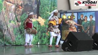 "Kyodai  Traditional Sri Lanka Dance 2 ""Sri Lanka Fest Japan 2012""  -Kyodai TV-"
