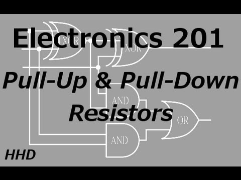 Electronics 201: Pull-Up and Pull-Down Resistors