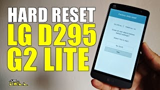Hard Reset LG G2 Lite (D295) #UTICell
