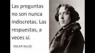 Oscar Wilde Mejores Frases Y Citas Celebres, Famosas, Inspiradoras.