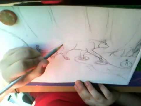 Видео как нарисовать тундру