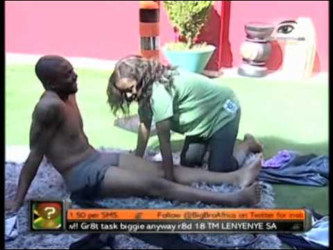 Big Brother Africa Amplified  - Task  Clothes Off. get naked said big brother thumbnail