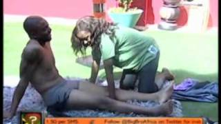 Big Brother Africa Amplified  - Task  Clothes Off. get naked said big brother
