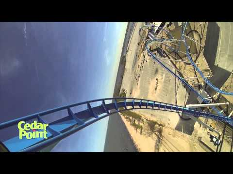 GateKeeper POV - Cedar Point - NEW 2013 - Right Side