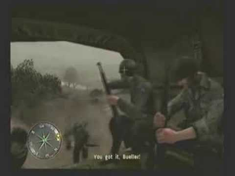 Call of Duty 3 - Mission 1 -- Saint Lo  (Part 1 of 2)