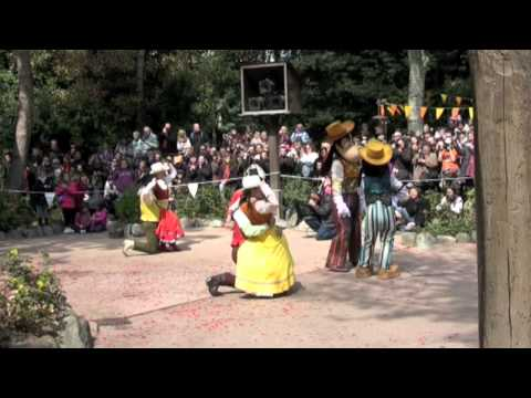 2012 Disneyland Paris 20th Anniversary Frontierland Celebrates!! April 12th