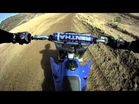 Yamaha Yz125 blows up at Pala Mx