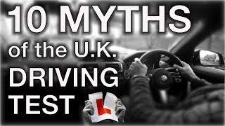 Top 10 Myths of the UK Driving Test