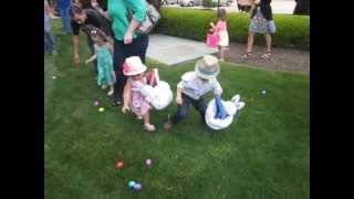 Easter Egg Hunting at Woodlands Church