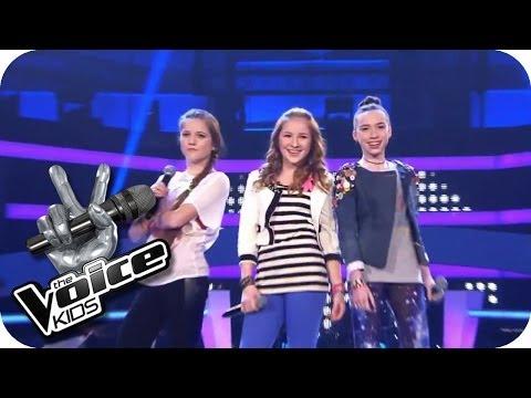 Jessie J. - Domino (Sarah, Alexandra, Rita) | The Voice Kids 2013 | Battle | SAT.1