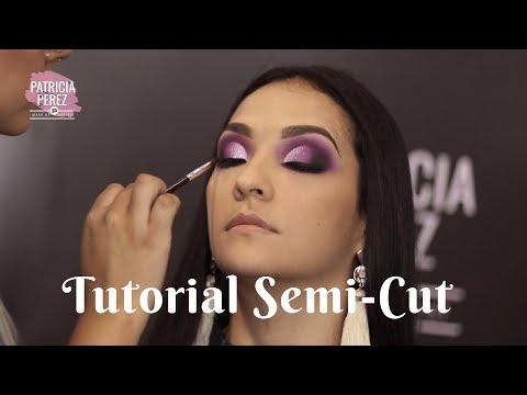 Demostración de Maquillaje Semi-Cut pasoa paso