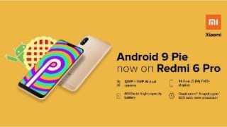 Redmi 6 Pro Android 9.0 Pie-Based MIUI 10.3.2 Global Stable Update Now Available INDIA
